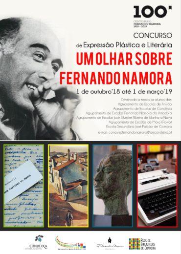 """Concurso comemorativo: """"UM OLHAR SOBRE FERNANDO NAMORA"""""""